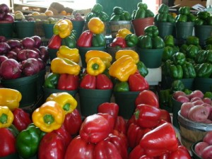 Variety of Bell Peppers